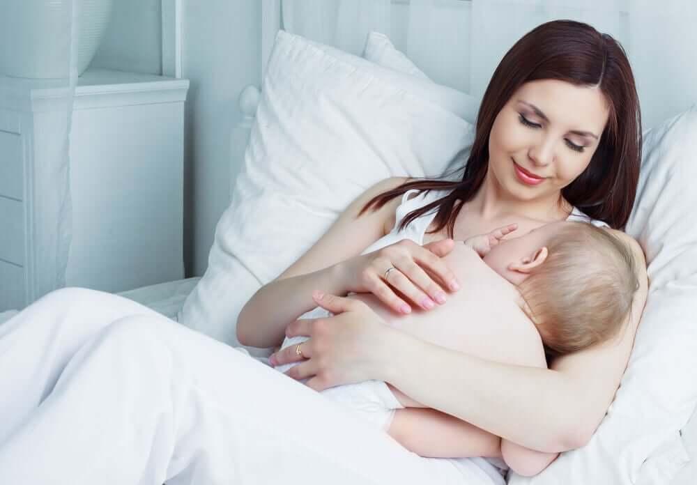 fazer o leite descer depois da cesárea