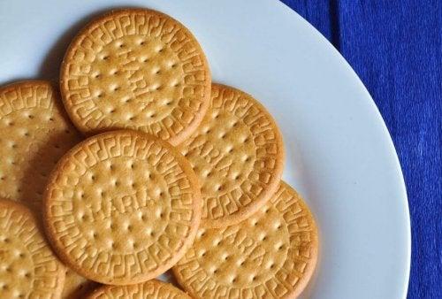 Biscoitos Maria