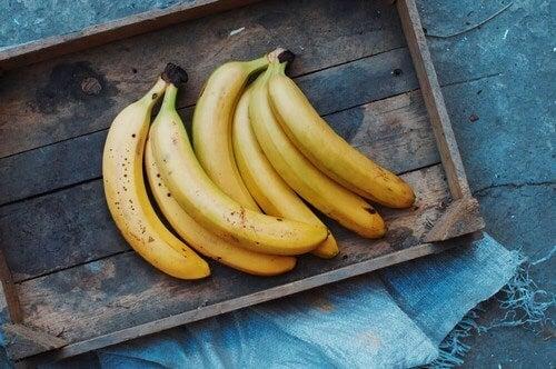 Bananas contêm vitamina B