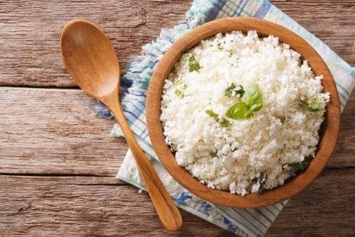 O arroz ajuda a definir seus músculos