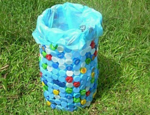 Cestos reciclados