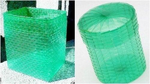 5 Ideias Para Fazer Cestos Reciclados Para O Lixo Melhor Com Saúde