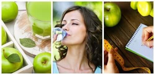 A dieta da maçã para perder barriga