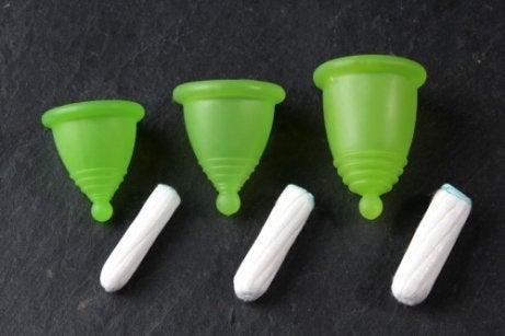 Coletor menstrual ou absorvente interno