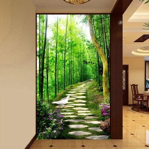Como decorar os corredores de casa