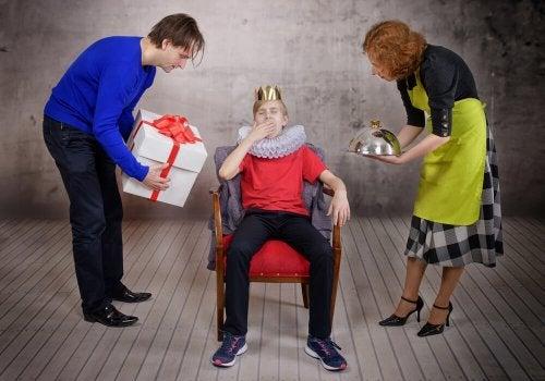Pais que não explocaram ao seu filho mimado a importância da responsabilidade