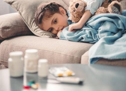 Evite publicar sobre seus filhos na Internet quando eles estão doentes