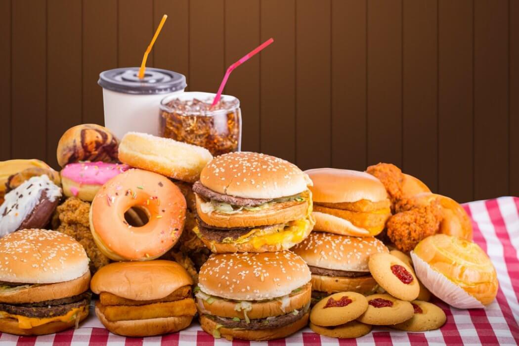 Hambúrgueres e fast food