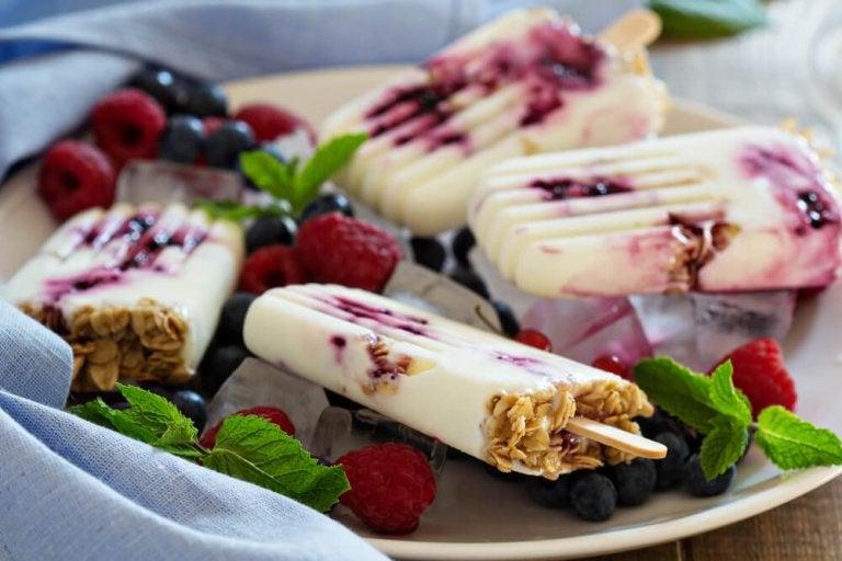 3 maneiras de preparar iogurte congelado