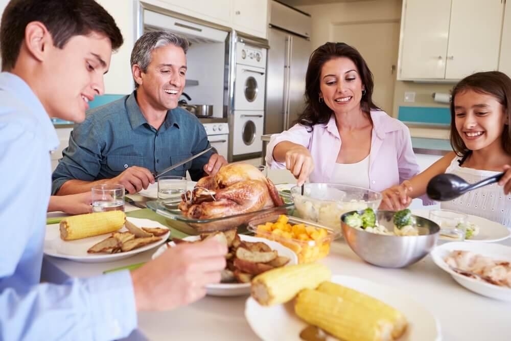 3 receitas para jantares em família