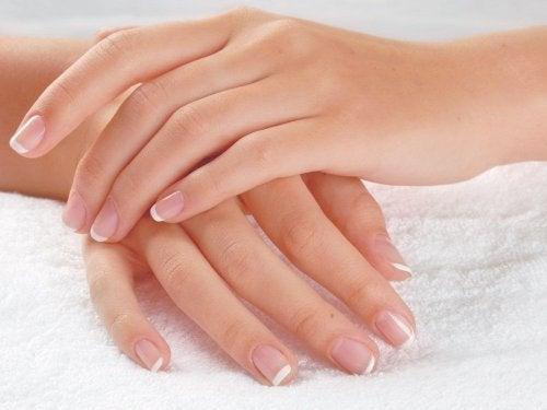 Mãos bonitas e macias