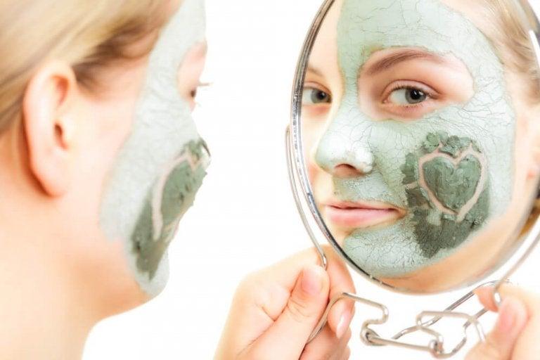 Máscaras naturais para a pele