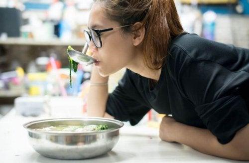 Receita de sopa light de repolho