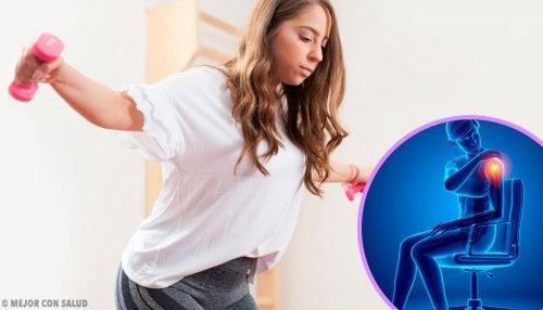 Exercícios para fortalecer os ombros