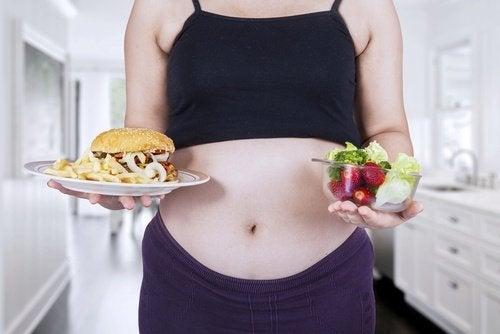 A boa alimentação é a chave para ter uma gravidez saudável