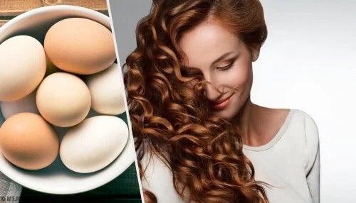 3 produtos hidratantes com ovos para cabelos secos