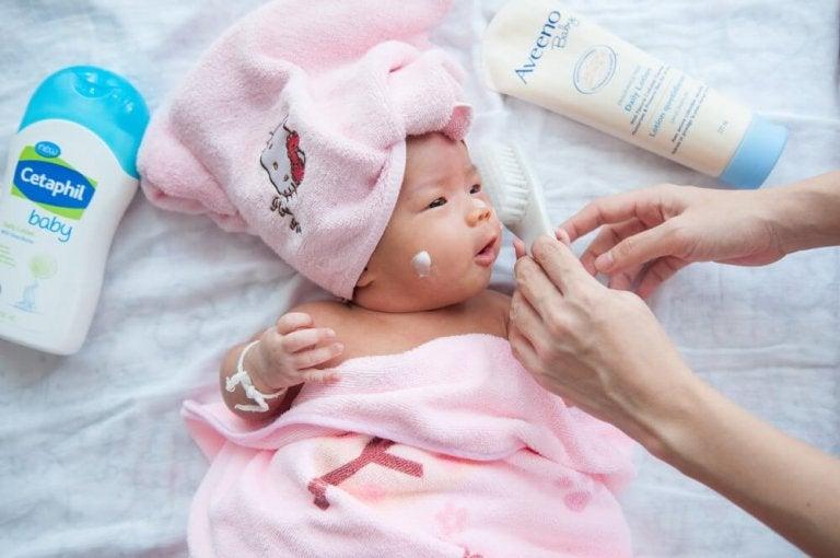 Cuidados nos primeiros meses do bebê