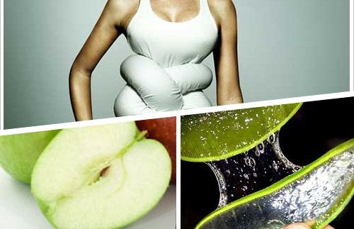 A maçã e o aloe ajudam a evitar o uso de laxante durante a gravidez