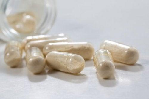 Pílulas de probióticos