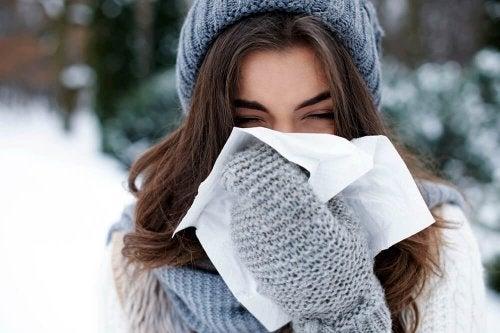 O óleo essencial de incenso ajda a tratar resfriados