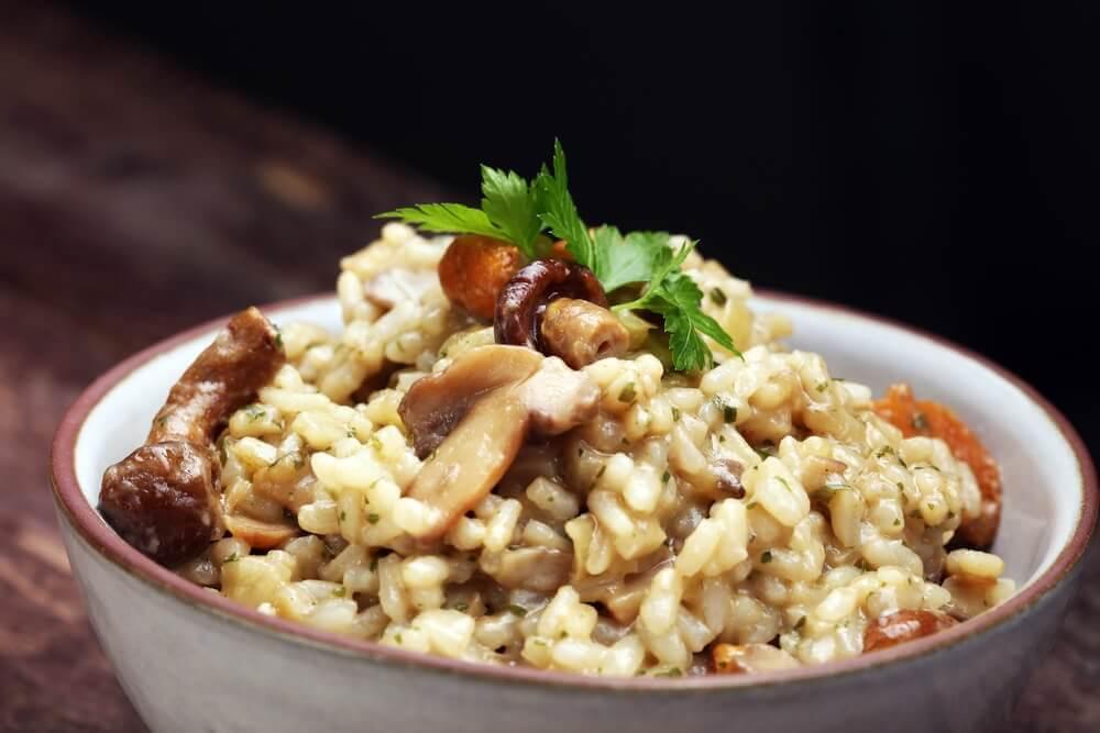Prepare um delicioso risoto cremoso com esta receita