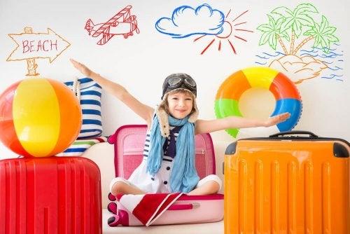 Viajar em fanília ajuda a ativar a fala das crianças