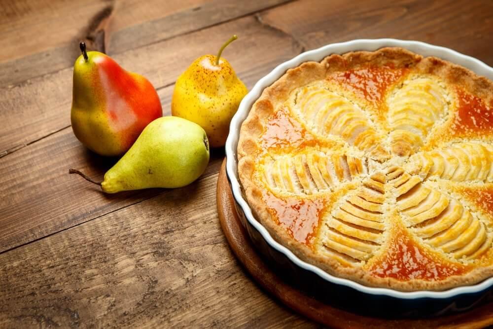 Suspiro de peras: uma sobremesa saudável para a sua dieta