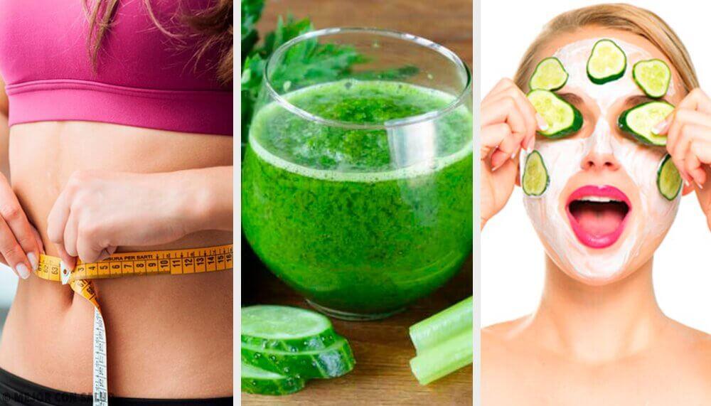 5 interessantes usos do pepino em sua rotina de beleza