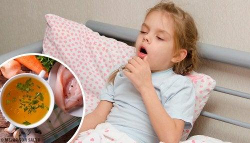 Como curar a tosse seca em crianças