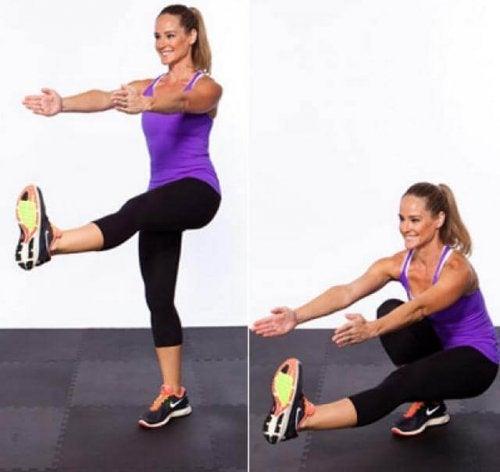 Agachamentos para pernas mais fortes