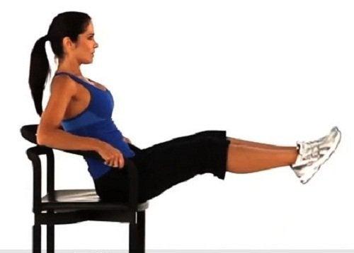 Abdominais para pernas mais fortes