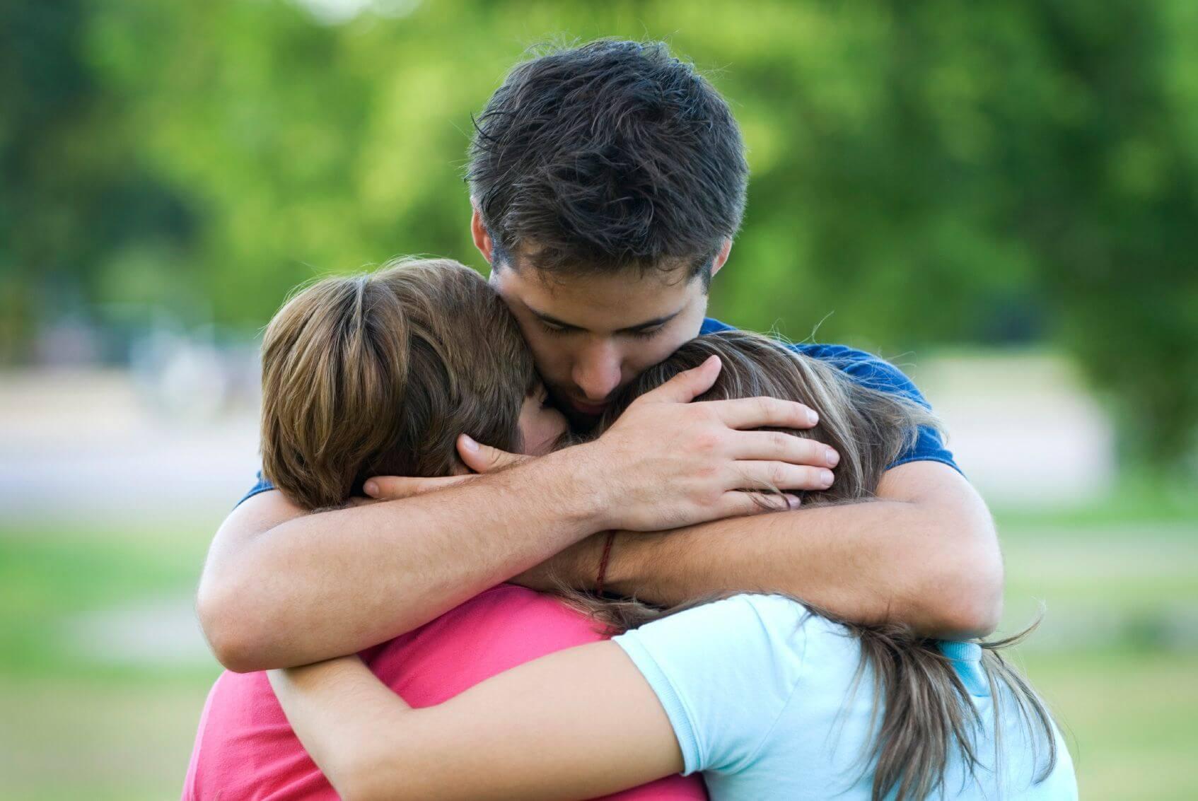 O apoio familiar ajuda a esquecer a dor