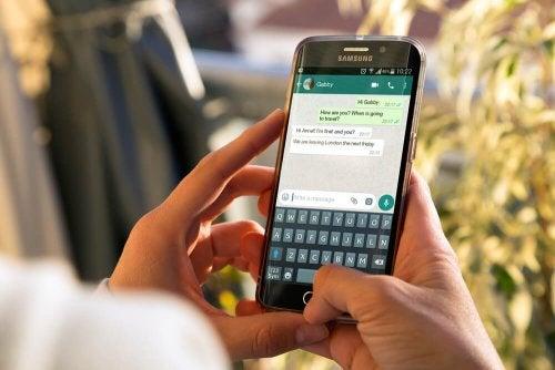 Ver término nas redes sociais atravéz do celular