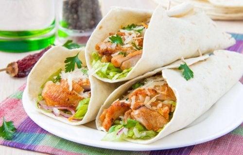 receitas de burritos caseiros co carne