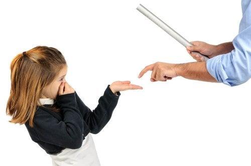 Castigo físico nos filhos