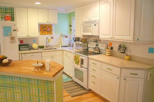 Pode decorar o interior da casa com cores pasteis