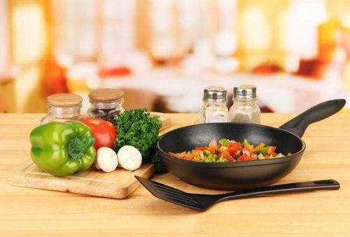 Cozinhar verduras