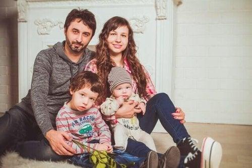 A união com os filhos é um hábito de uma família feliz