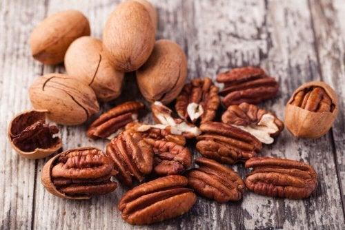Para perder barriga consumo frutos secos quando tiver fome