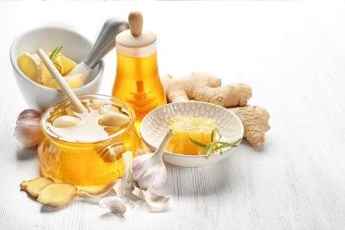 Gengibre, alho e mel: o melhor remédio para o colesterol alto