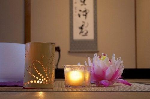 Iluminação na decoração japonesa