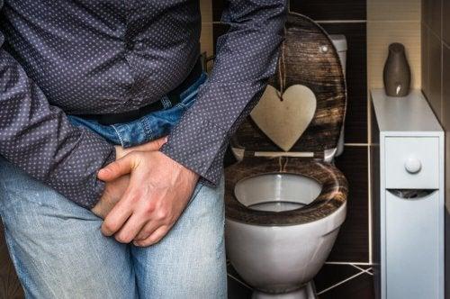 Tratamento da incontinência urinária com plantas