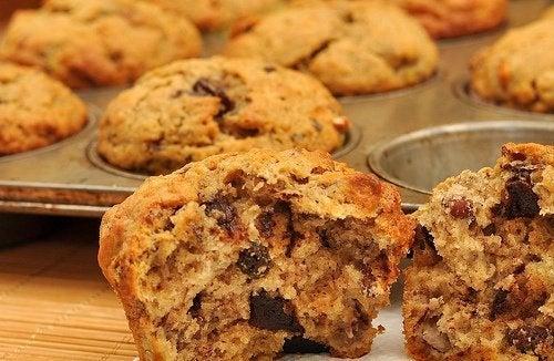 Receitas saborosas com aveia: muffins