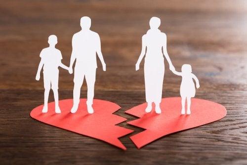 padrasto e madrasta rompendo o relacionamento
