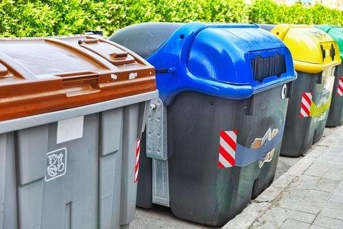 Cestos para reciclar
