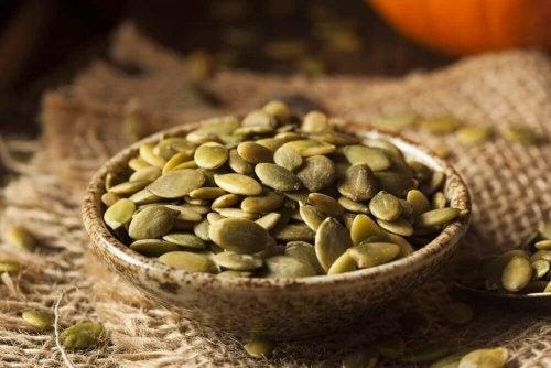 3 receitas com sementes de abóbora para aprender