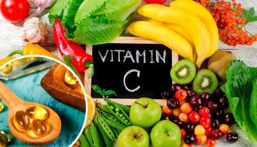 A limonada detox contém frutas com vitamina C