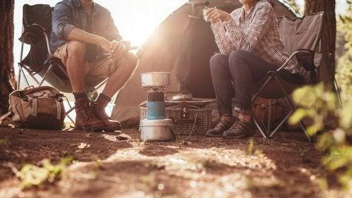 Benefícios de acampar para o corpo e mente