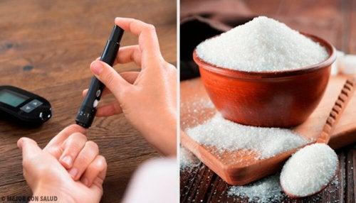 O açúcar provoca diabetes