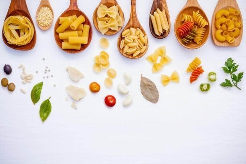 Alimentos base da dieta na ginástica rítmica